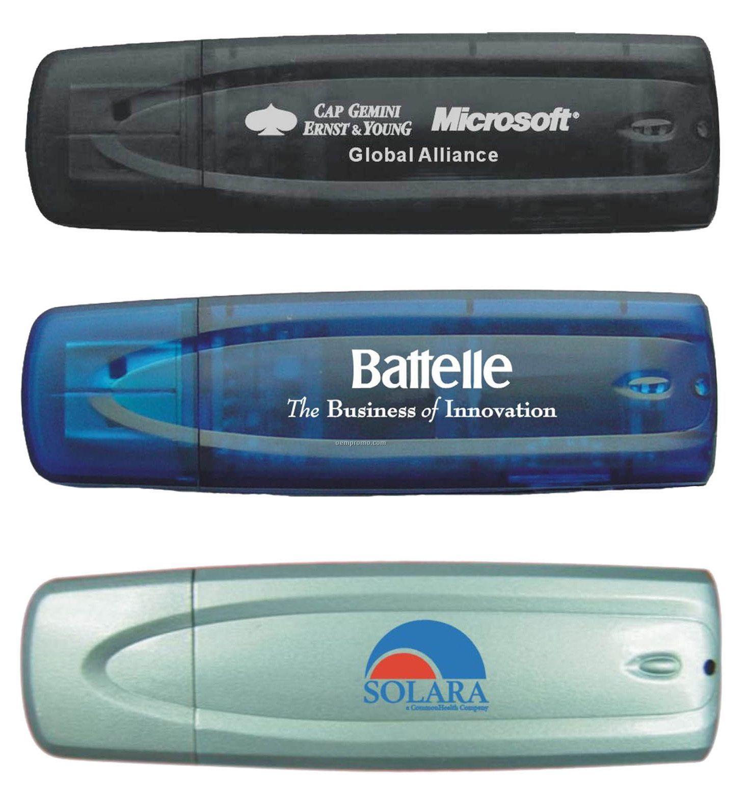 USB Flash Drive W/ Light Indicator/ 256mb Memory