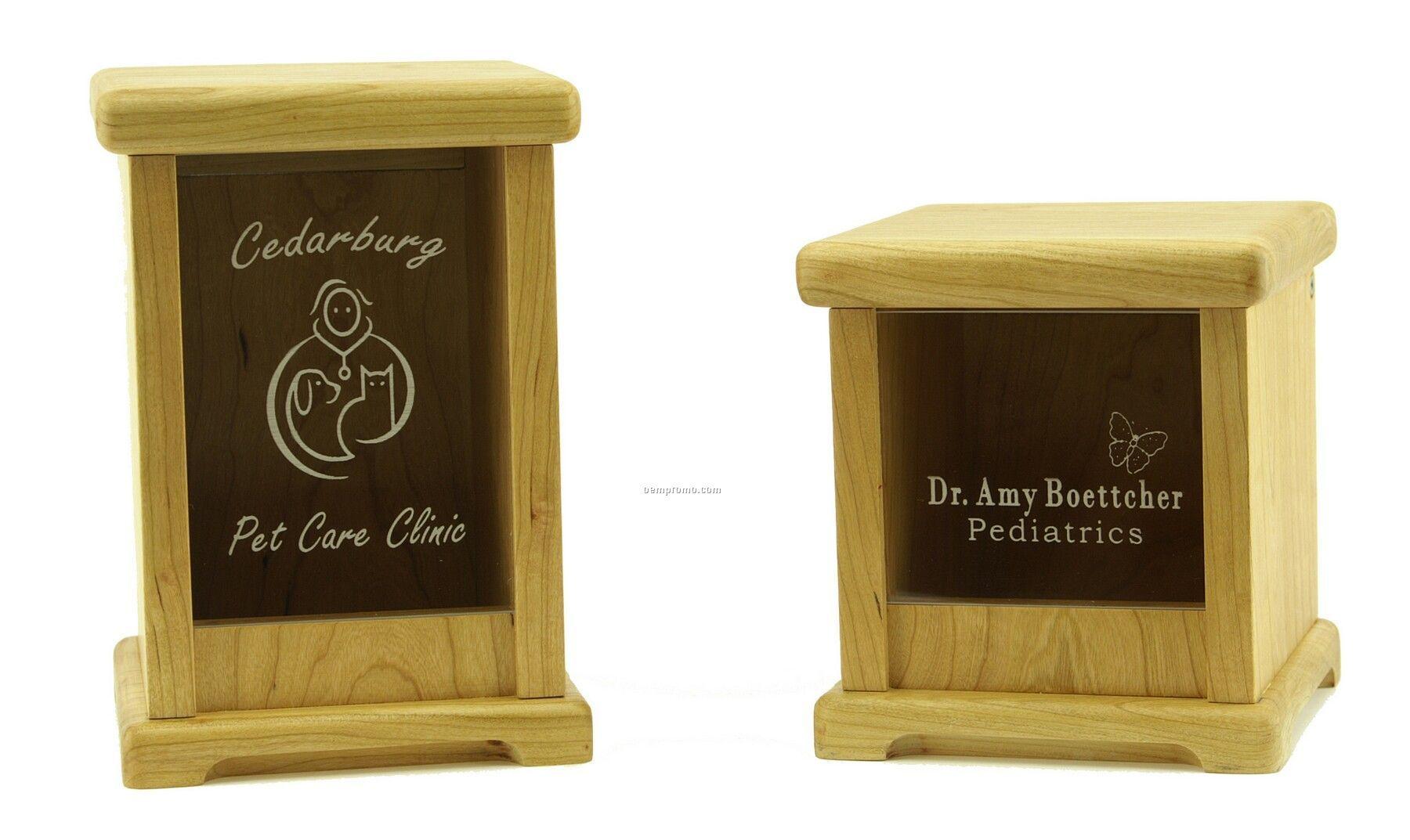 Wooden Apothecary Decanter