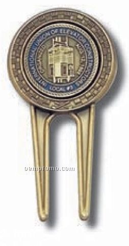 "Divot Tool W/ 1"" Removable Ball Marker"