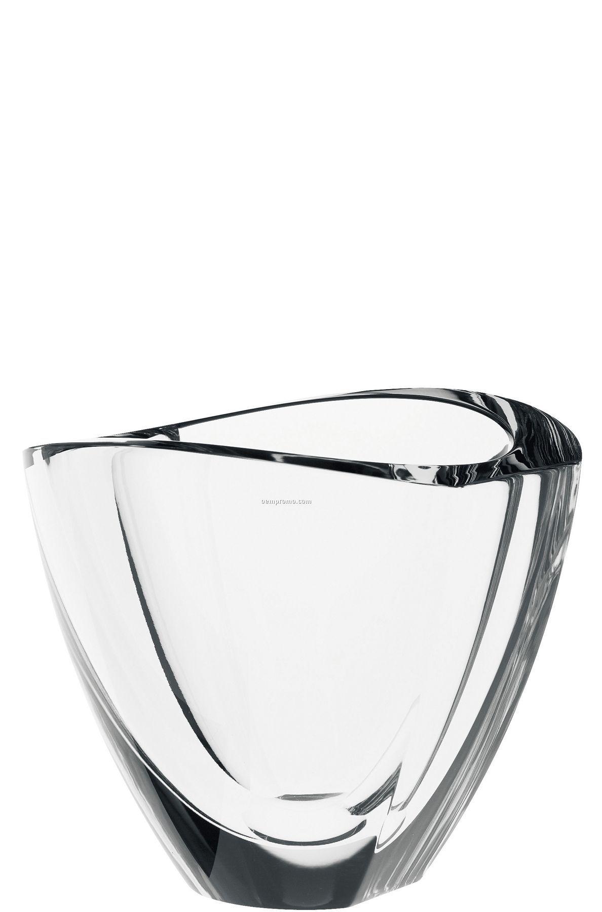 "Mirror Crystal Bowl By Erika Lagerbielke (5 3/8""X6 1/4"")"
