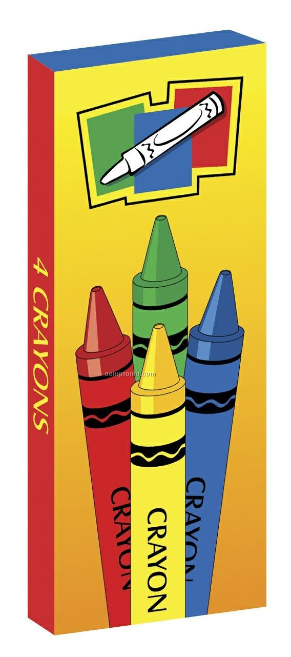 Stop Look & Learn Non-toxic Crayons - Unimprinted