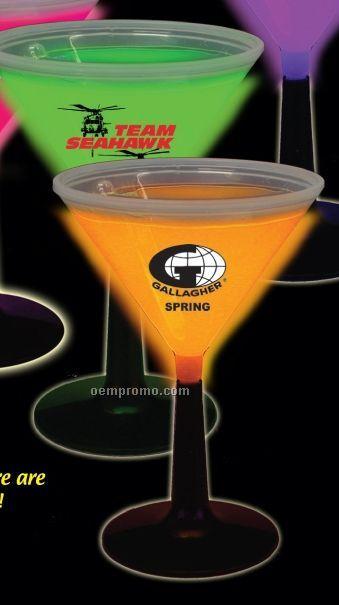 9 Oz. Glow Martini Glass