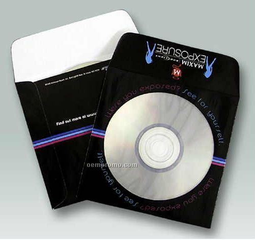 Custom Paper Window Media Envelope (4-color Process)