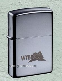 High Polished Chrome Zippo Wind Resistant Lighter