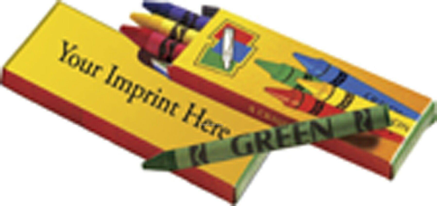Stop Look & Learn Non-toxic Crayons - Imprinted