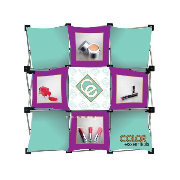 Micro Geometrix Kit W/ 9 Quad Square Frame