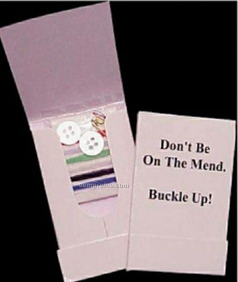 Sewing Kit In Booklet Pouch (1 Color)