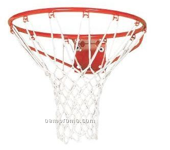 White Nylon Basketball Hoop