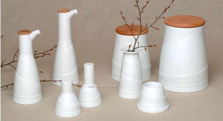 Elan Porcelain Vinegar Bottle