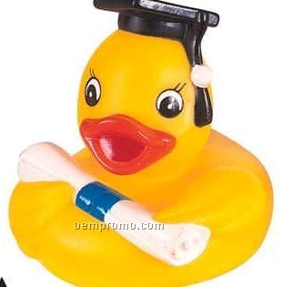 Rubber Graduate Duck