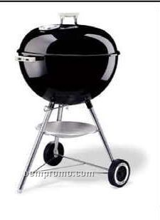"""Weber 22-1/2"""" One Touch Silver Charcoal Grill"""