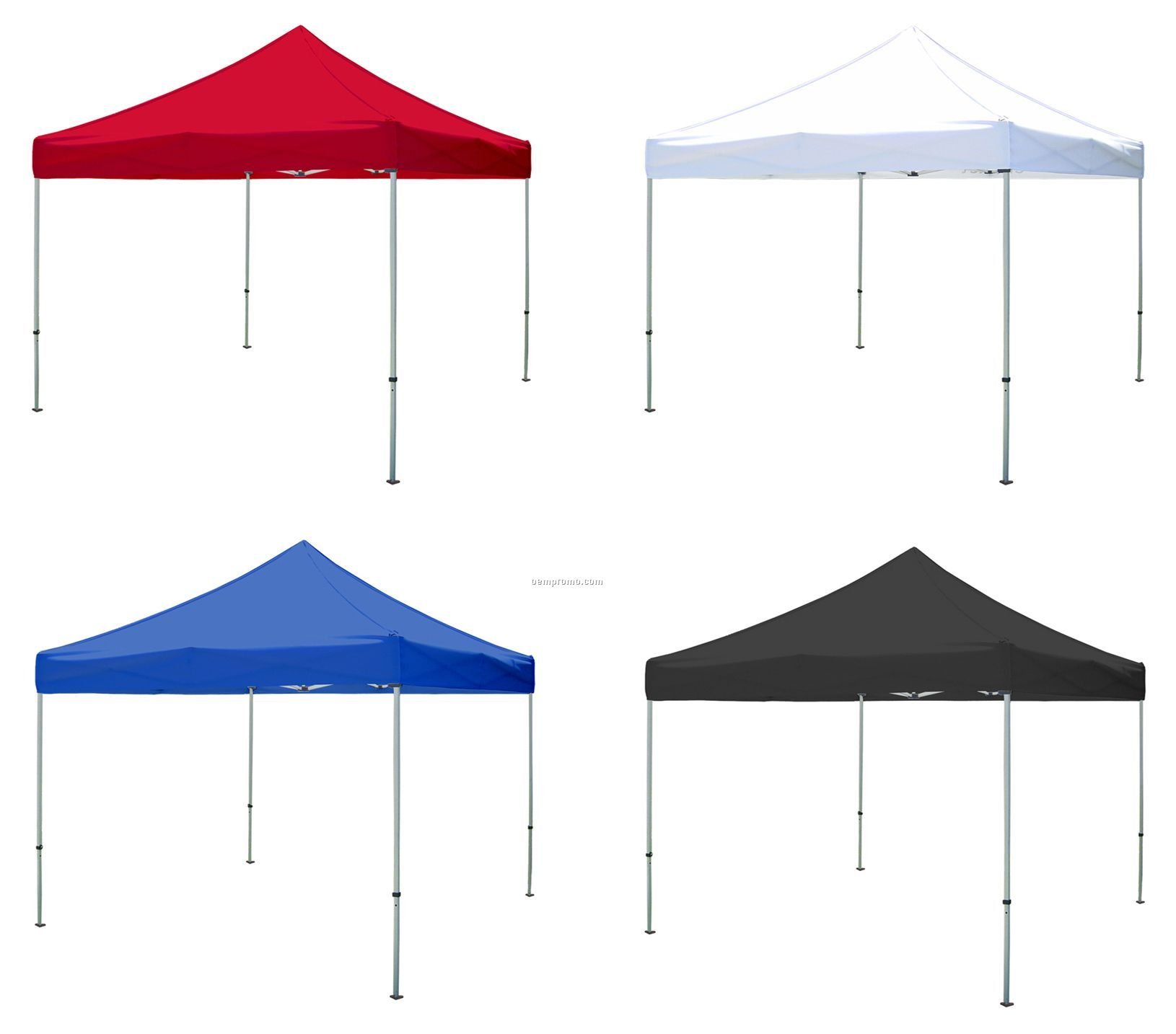 10x10 Pop Up Canopy Tent W Aluminum Frame No Art China