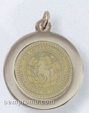 """Gold Plated Pendant Charm (3/4"""")"""