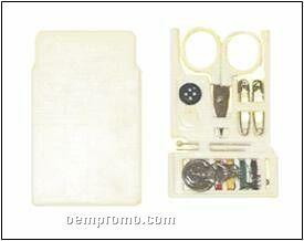 "Sewing Kit In Slide-in Case 2-1/2"" X 3-1/2"""