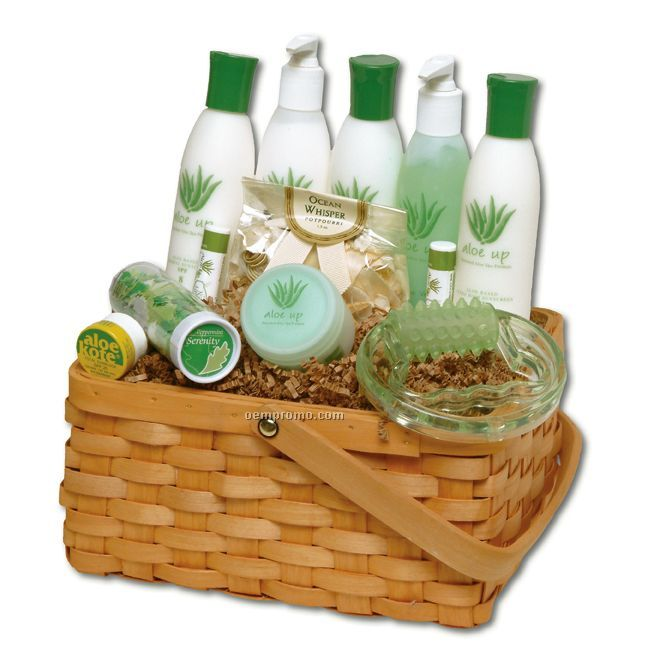 Vermont Spa Formula Large Gift Basket