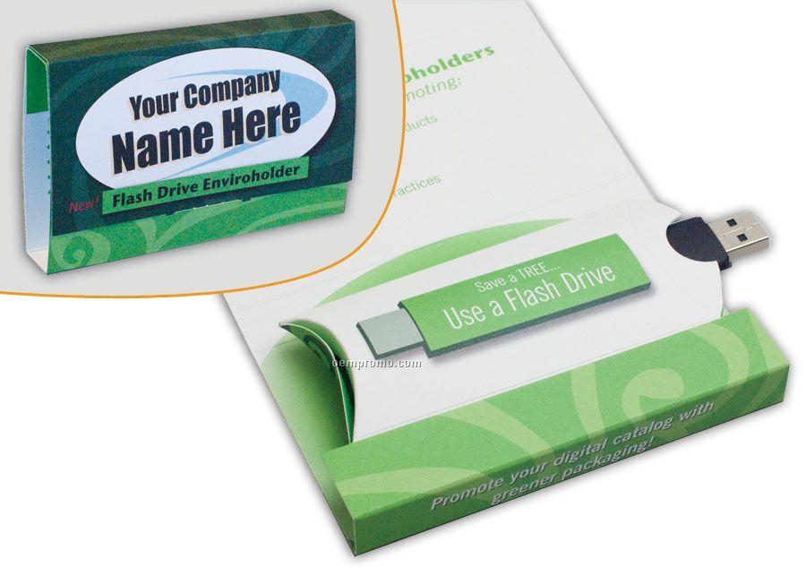 3 Panel USB Flash Drive Holder
