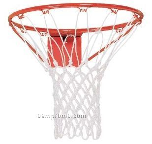 Anti-whip Heavy White Nylon Basketball Hoop