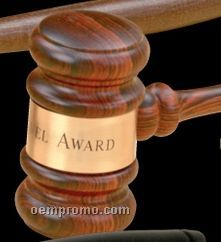 Imported Rosewood Standard Gavel