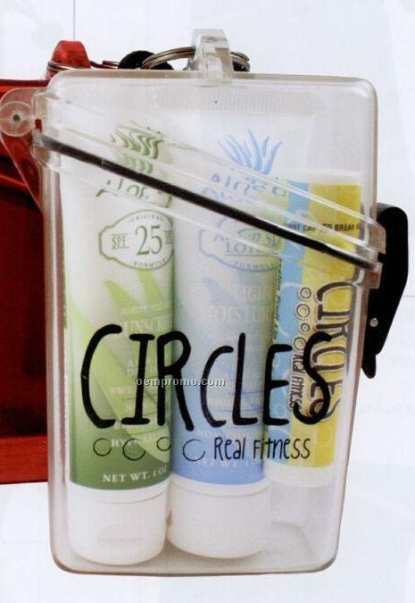 Original Selection Spf 25 Sunscreen/ Moisturizer & Lip Balm W/ Witz Case