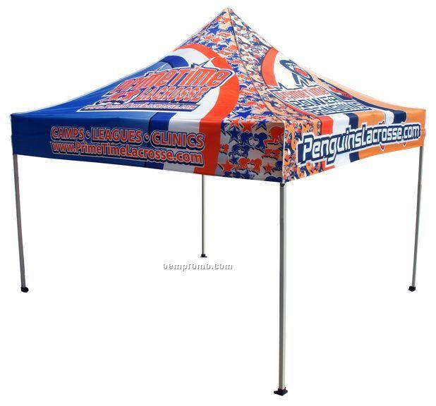 10x10 Pop Up Canopy Tent W/ Steel Frame (Digital)