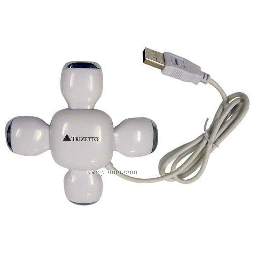 4-port Folding USB Hub