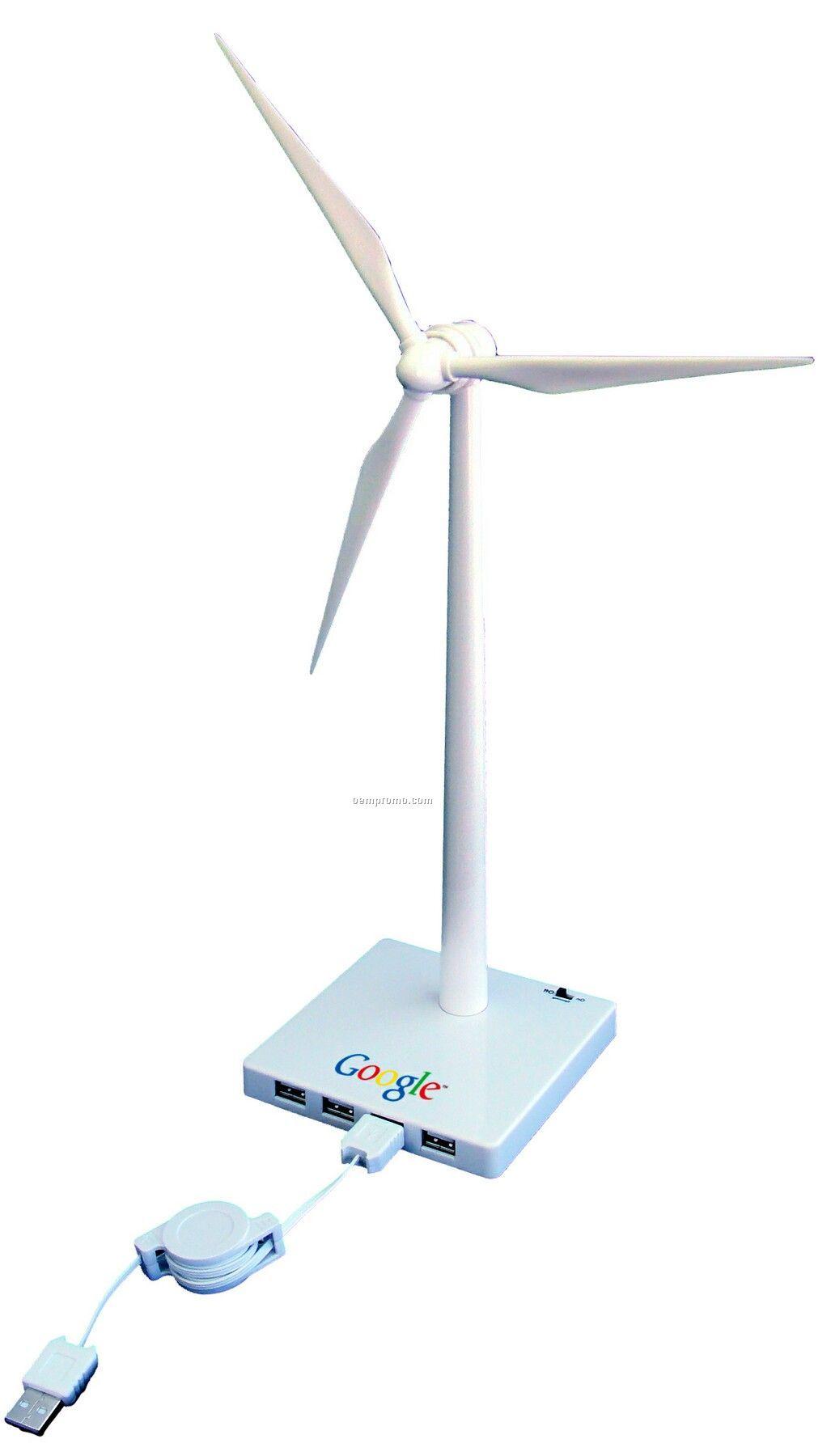 Desktop Wind Turbine USB Powered Drive