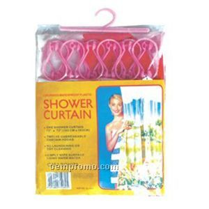 Peva Printed Shower Curtain