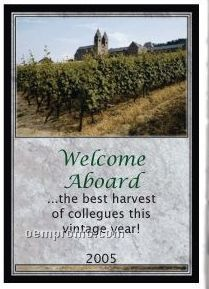 Custom Wine Gift With Personalized Stock Label - Vineyard Or Outdoor Party