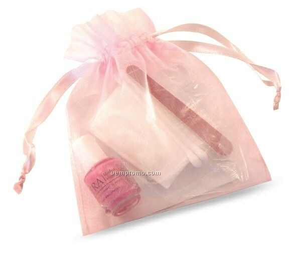 Nail Care Gift Set In Organza Bag