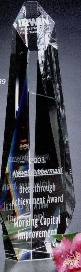 "Pristine Gallery Crystal Encore Tower Award (12"")"