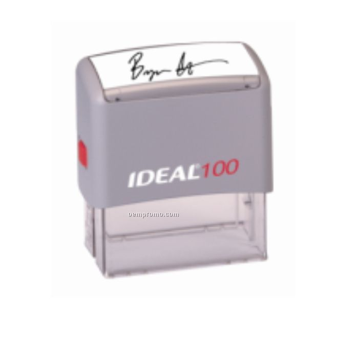 Signature Self-inking Rubber Stamp