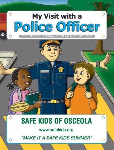Fun Pack Coloring Book W/ Crayons - My Visit With A Police Officer