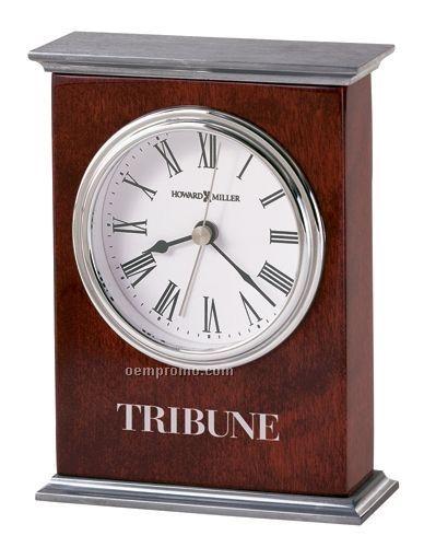 Howard Miller Kentwood Carriage Alarm Clock (Blank)