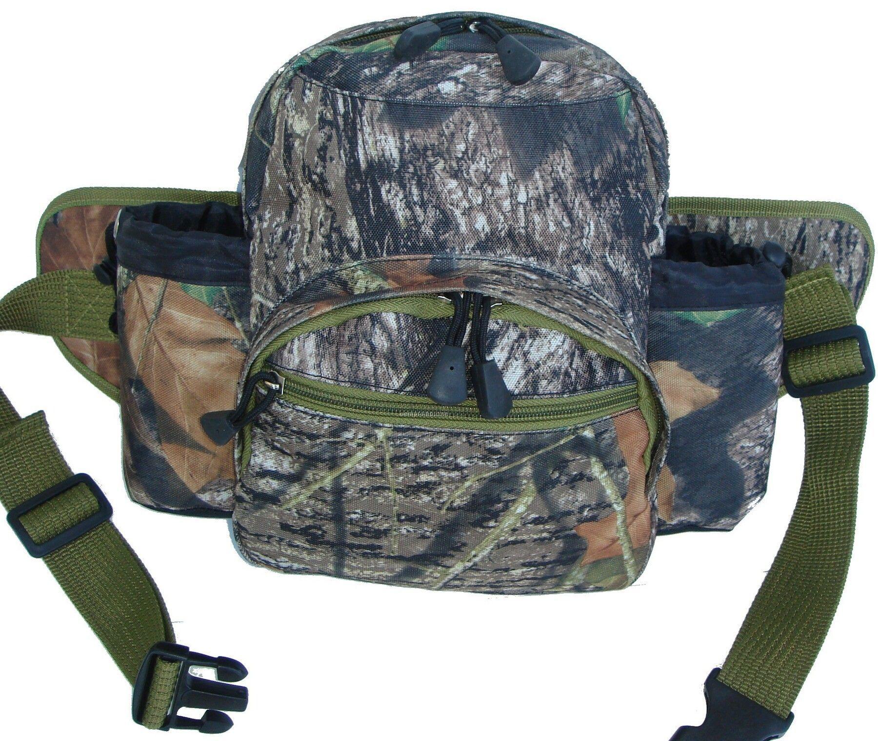 Mossy Oak Break Up Bottle Holder Bag
