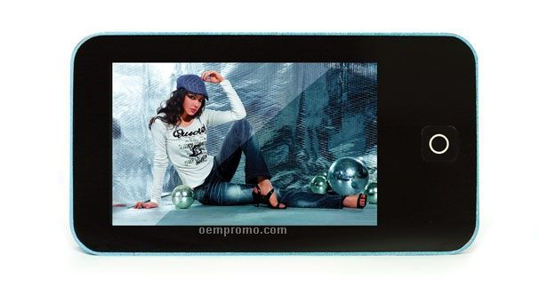 Multi Function Mp4 Player W/ Touchscreen (4 Gb)