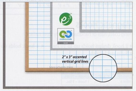 "Plain Magnetic Dry Erase Board (18""X24"")"
