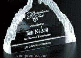 "Pristine Gallery Crystal Matterhorn Award (4 1/4"")"