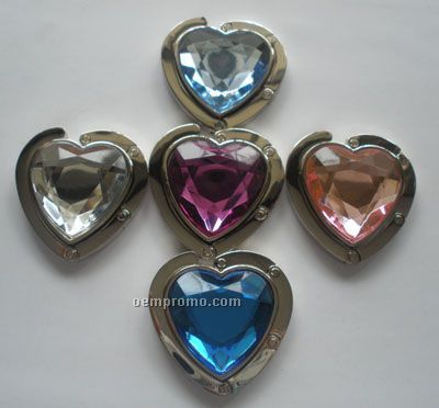 Purse/Handbag Hanger(Heart Shape Style)