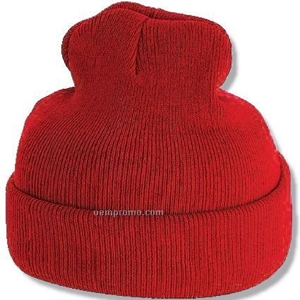 "Super Stretch 8"" Beanie Cap (Medium)"
