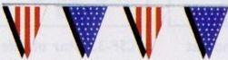 American Pennant Streamers (60')
