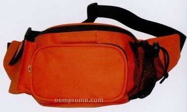 Fanny Pack With Blaze Orange Material