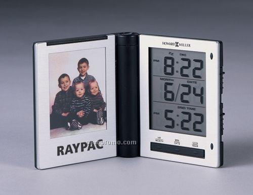Howard Miller Photo Traveler Alarm Clock (Blank)