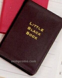 Little Black Book Address Book With A To Z Tabs