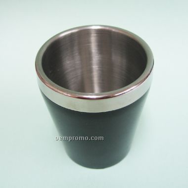 Stainless Steel Shot Cup (Black)