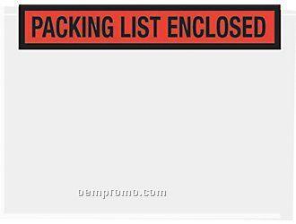 """Stock Packing List Envelope ( 4.5"""" X 5.5"""")"""