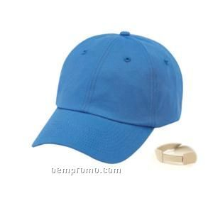 Unconstructed Low Crown Storm Heavy Cotton Twill Cap