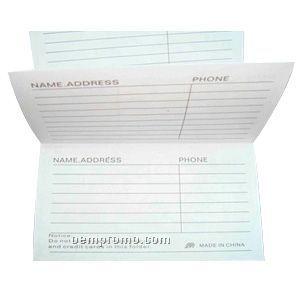 Magnetic Address Book