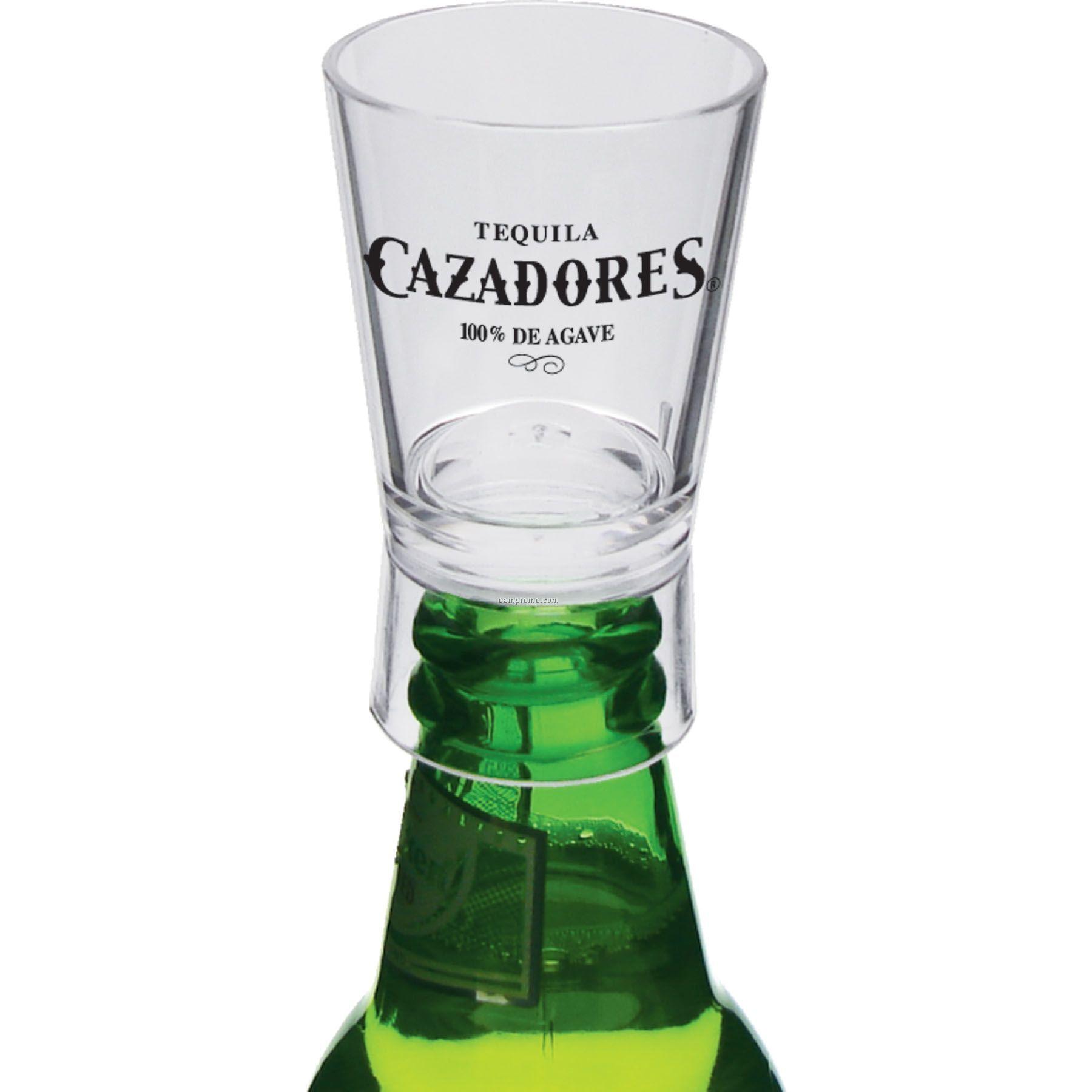 1.25 Oz. Bottle Top Shot Glass