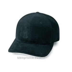 Constructed Low Crown Heavy Brushed Cotton Twill Cap With Sandwich Bill