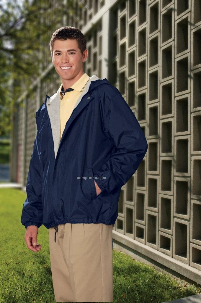 Dunbrooke Legacy Hooded Nylon Jacket